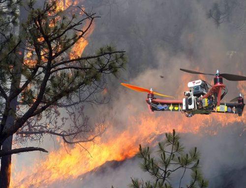 APROBADO PLAN CONTRA INCENDIOS FORESTALES 2018 CON DRONES EN ALBACETE, CÁCERES, LÉON Y ZARAGOZA