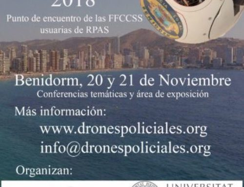 JORNADAS: DRONES POLICIALES 2018 (20-21 NOV, BENIDORM (ALICANTE))